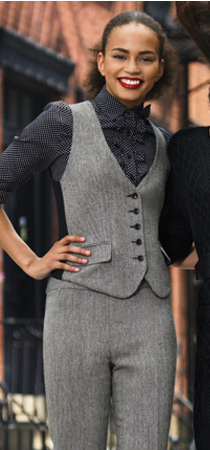 Houndstooth Pantsuit!